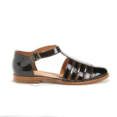 Gelakte sandalen in geitenleer KIM Gelakte sandalen in geitenleer KIM ANTHOLOGY PARIS