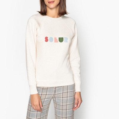 Timon Sweatshirt with Print on Front Timon Sweatshirt with Print on Front SOEUR