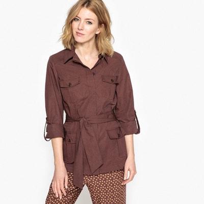 Veste tailleur couleur camel femme