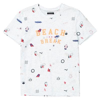 T-shirt col rond imprimé 3-14 ans IKKS JUNIOR