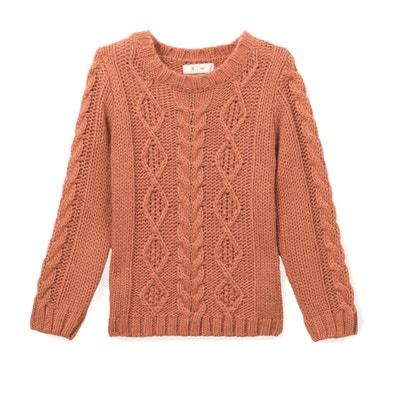 Trui in fijn tricot met ronde hals La Redoute Collections