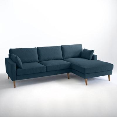 Canapé d'angle fixe Stockholm polyester, confort Excellence La Redoute Interieurs