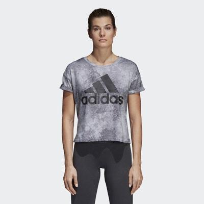 T-shirt con scollo rotondo, maniche corte ADIDAS PERFORMANCE