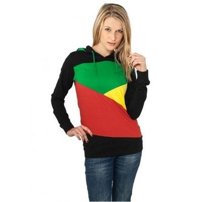 T-shirt à capuche manches longues ZIG ZAG T-shirt à capuche manches longues.  URBAN CLASSICS 24e16b06494b