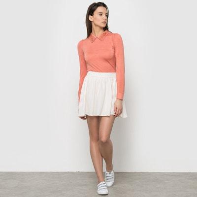Short Skater Skirt COLOR BLOCK