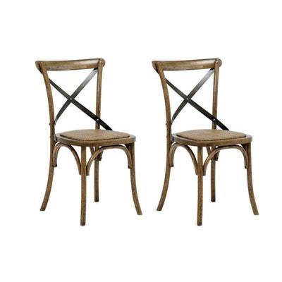 Chaise bistrot la redoute - Chaises de bistrot en rotin ...