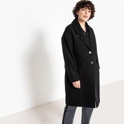 Manteau style masculin, col tailleur CASTALUNA