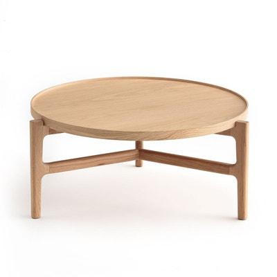 Table basse Ø94 cm chêne, Alyasa Table basse Ø94 cm chêne, Alyasa AM.PM