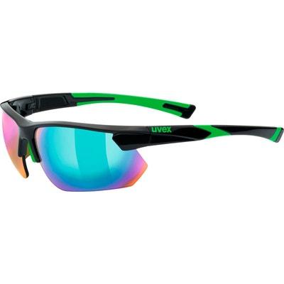 Sportstyle 221 - Lunettes cyclisme - vert noir UVEX 7a28fa54cd85