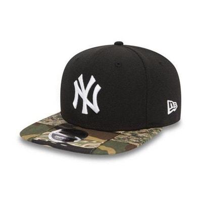 Casquette New Era 9Fiifty New York Yankees Patchwork Camo Snap Noir NEW ERA 3386c3ced967