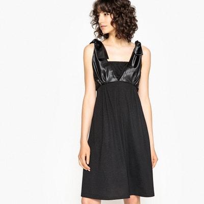 Langes Kleid mit Trägern zum Binden Langes Kleid mit Trägern zum Binden La Redoute Collections