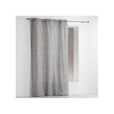 rideau gris chine la redoute. Black Bedroom Furniture Sets. Home Design Ideas