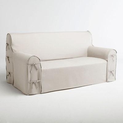 housse canape blanc en solde la redoute. Black Bedroom Furniture Sets. Home Design Ideas