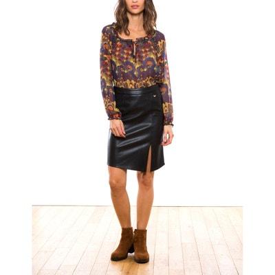 Faux Leather Skirt LES PETITES BOMBES