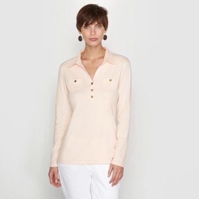 Combed Cotton Polo Shirt Combed Cotton Polo Shirt ANNE WEYBURN