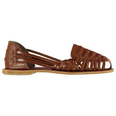Sandales plates brillnats FIRETRAP