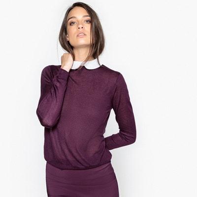 Пуловер с отложным воротником Пуловер с отложным воротником MADEMOISELLE R