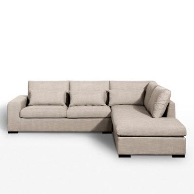 canape droit beige en solde la redoute. Black Bedroom Furniture Sets. Home Design Ideas