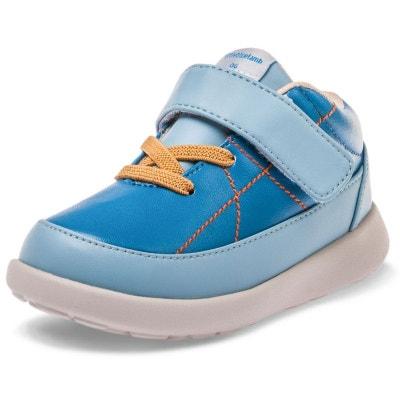 Chaussures semelle souple baskets scratch et lacets Chaussures semelle souple baskets scratch et lacets LITTLE BLUE LAMB