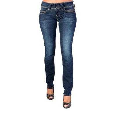 Jean slim femme Pepe jeans en solde   La Redoute b693b4e9c77e