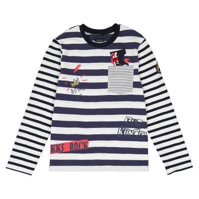 Camiseta estilo marinero, 3 - 14 años Camiseta estilo marinero, 3 - 14 años IKKS JUNIOR
