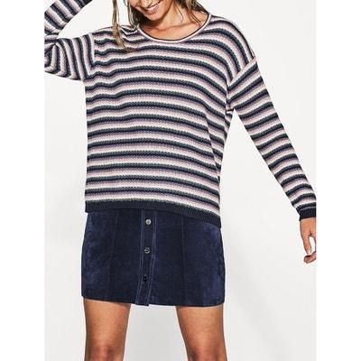 Striped Cotton Jumper ESPRIT