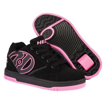 Heelys chaussure à roulette propel 2.0 - 770291 noir rose Heelys chaussure à roulette propel 2.0 - 770291 noir rose HEELYS