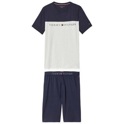 Printed Cotton Short Pyjamas TOMMY HILFIGER