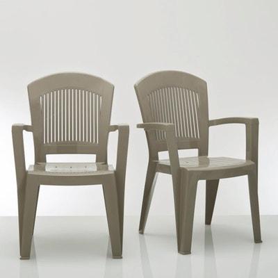 4er-Set Gartenstühle, stapelbar 4er-Set Gartenstühle, stapelbar La Redoute Interieurs