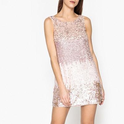 Ärmelloses Kleid mit Pailletten LIU JO