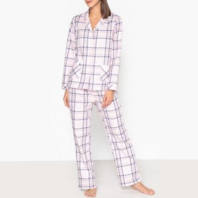 Classic Checked Cotton Pyjamas Classic Checked Cotton Pyjamas La Redoute Collections