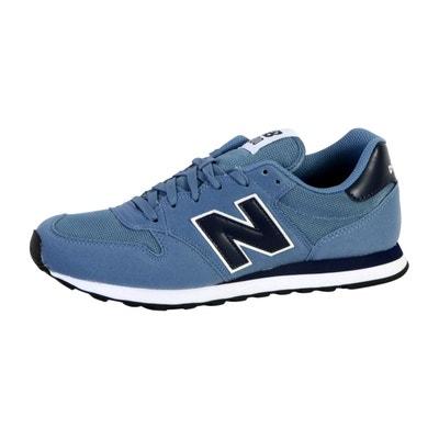 Running chaussures New Balance Océan Bleu/Hi-lite Coupe classique