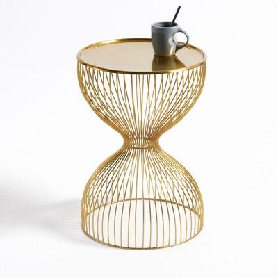 table de chevet doree la redoute. Black Bedroom Furniture Sets. Home Design Ideas
