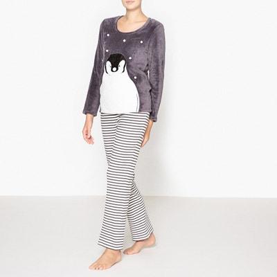 Penguin Faux Fur Pyjamas La Redoute Collections