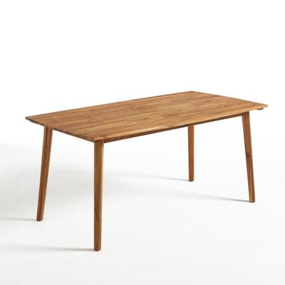 Julma Oiled Acacia Garden Table La Redoute Interieurs