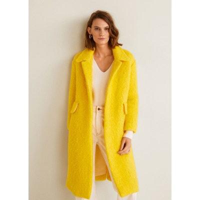 Manteau déstructuré en laine MANGO