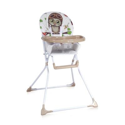 Chaise Haute Pour Bébé Bobo Beige LORELLI