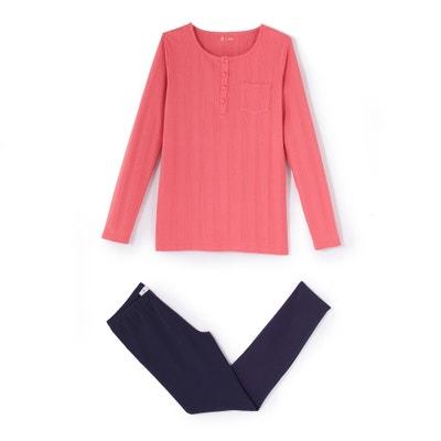 Pyjama in jersey 10-16 jaar La Redoute Collections
