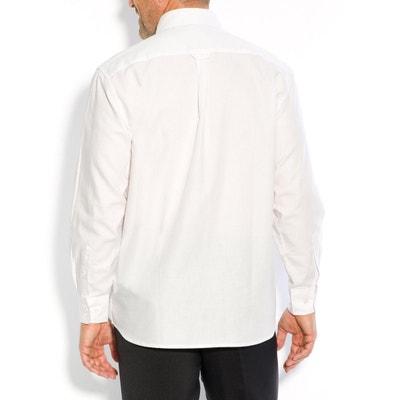 Camisa recta con manga larga CASTALUNA FOR MEN