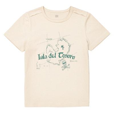 T-Shirt, runder Ausschnitt, Motiv, 3-12 Jahre T-Shirt, runder Ausschnitt, Motiv, 3-12 Jahre La Redoute Collections
