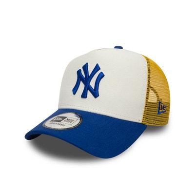 f22d157454385 Casquette New Era New York Yankees Nylon Trucker droite - 80636018 Casquette  New Era New York