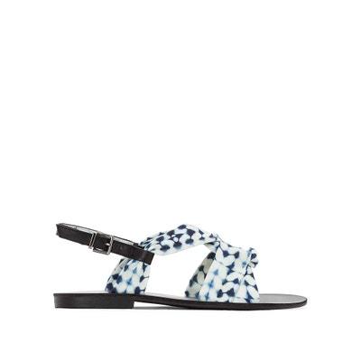 Sandalen mit Knotendetails, bedruckt La Redoute Collections