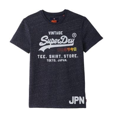 Camiseta estampada, cuello redondo, manga corta Camiseta estampada, cuello redondo, manga corta SUPERDRY