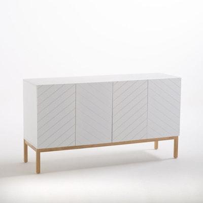 Buffet Blanc Design En Solde La Redoute