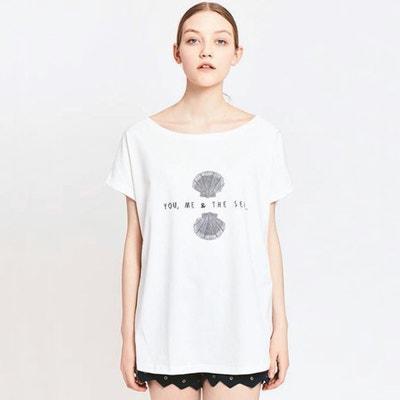 T-Shirt, weite Form, bedruckt MIGLE+ME