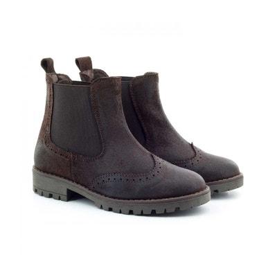 Boni Rainfall - boots enfant en daim gras Boni Rainfall - boots enfant en  daim gras 48efaba001f5