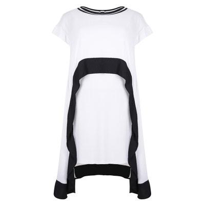 Long Two-Tone Printed Maxi Dress Long Two-Tone Printed Maxi Dress MAT FASHION