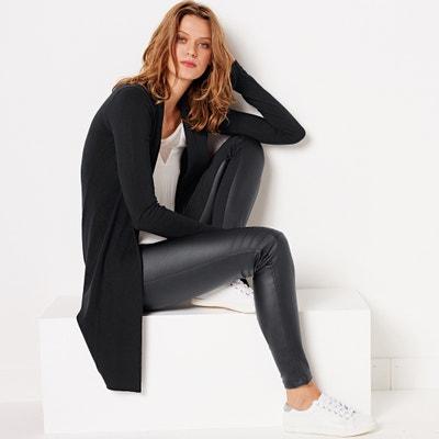 Pantalón en dos tejidos estilo motero de piel sintética La Redoute Collections