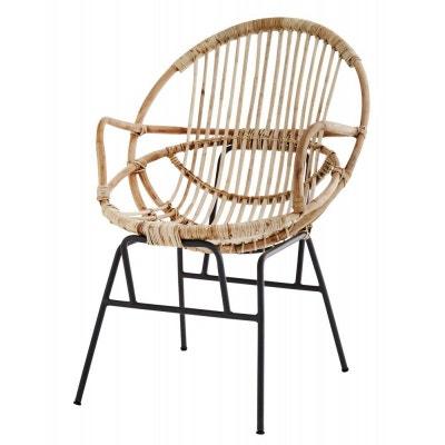 fauteuil rtro bois bambou mtal fauteuil rtro bois bambou mtal - Fauteuil Bambou