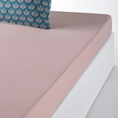 ÉVENTAIL Plain Cotton Fitted Sheet ÉVENTAIL Plain Cotton Fitted Sheet La Redoute Interieurs